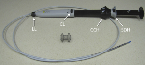 Système délivrant la prothèse AXIOS®