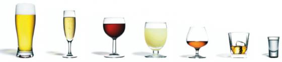 Un verre standard ou une « unité » contient 10 g d'alcool pur