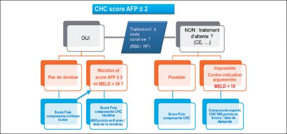 Stratégie adoptée par l'ABM pour la prise en charge pendant la phase d'attente des patients inscrits pour CHC