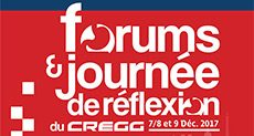 Forums du CREGG 2017