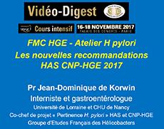 Aterlier FMC HGE : Helicobacter PyloriAterlier FMC HGE : Helicobacter Pylori