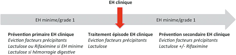 Prévention et traitement de l'EH clinique en fonction de la situation clinique