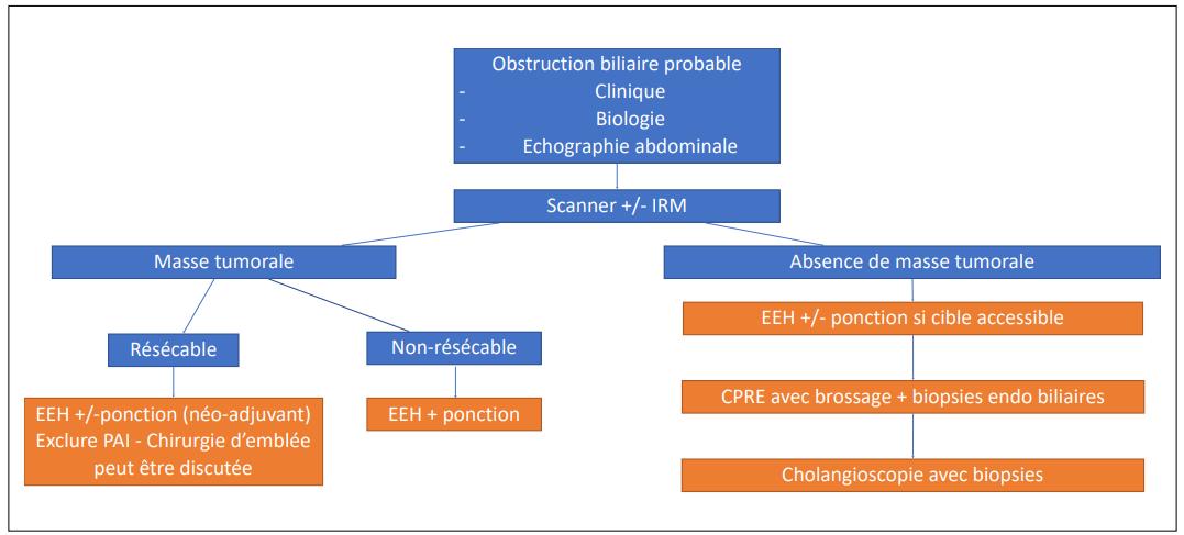 Algorithme diagnostique proposé pour la gestion des OBDM